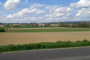 Blick von Imperndorf Richtung Willersdorf
