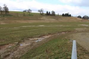 Erosion im Becken