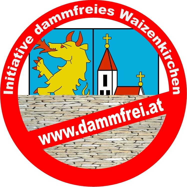 Logo der Initiative für ein dammfreies Waizenkirchen.